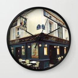 Cafe Culture Wall Clock