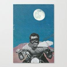 The Last Man on Earth  Canvas Print