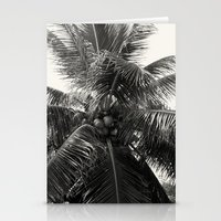 coconut wishes Stationery Cards featuring Coconut! by Chandon Photography