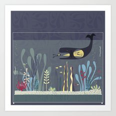 The Fishtank Art Print
