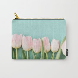 Tulips in Pastel Carry-All Pouch