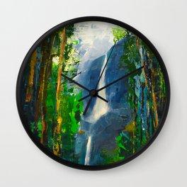Yosemite Falls Wall Clock