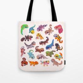 Gecko - bright Tote Bag