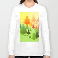 forrest Long Sleeve T-shirts featuring Forrest sunrise by Knightley