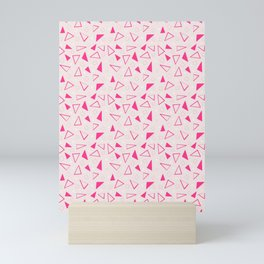 10 Pink and Blush Shape Confetti Mini Art Print