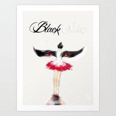 Black Swan V Art Print
