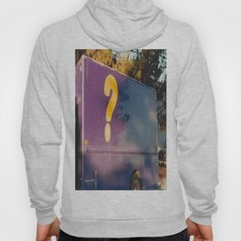 ? - shot with a film camera Hoody