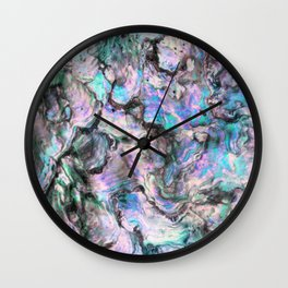 Iridescence #1 Wall Clock
