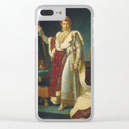 Francois Gerard - Napoleon Bonaparte Clear iPhone Case