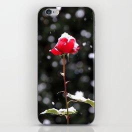 Defiance - rose in winter iPhone Skin