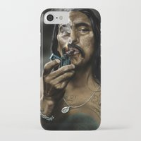 danny haas iPhone & iPod Cases featuring Danny Trejo by Duke78