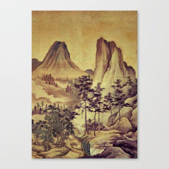 12000 steps - the Pilgrimage Canvas Print