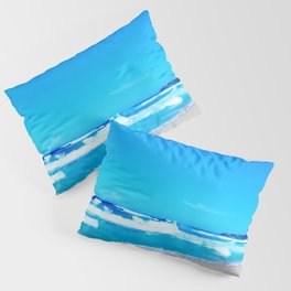 Carribean Coast Pillow Sham