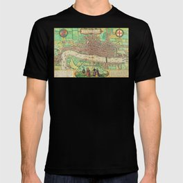 A Modern Map of London T-shirt
