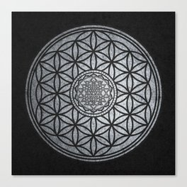 Sacred Unity - Sacred Geometry Canvas Print