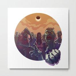 Eclipse Z Metal Print