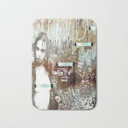 Staples and Portholes Bath Mat