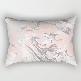 Effect Marble pink Rectangular Pillow