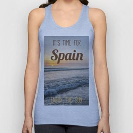Time for spain Unisex Tank Top