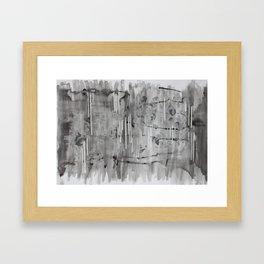 Expressing Cognitive Activity (3/4) Framed Art Print