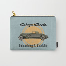 Vintage Wheels: Duesenberg SJ Roadster Carry-All Pouch