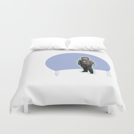 astronaut boy Duvet Cover