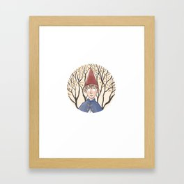 Over the Garden Wall Wirt Watercolor Framed Art Print
