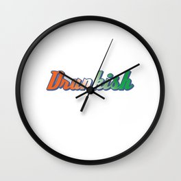 St. Patricks Day Is Right Around The Corner. This Simple Drinking Design Is A Winner T-shirt Wall Clock