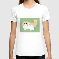 persian T-shirts featuring Persian by Fandango089