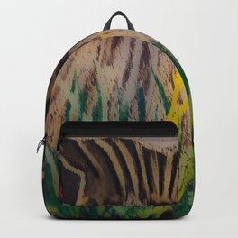 Chalkboard Blooms Backpack