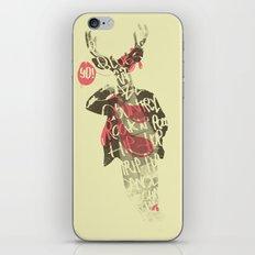 Yo! Deer Music Man iPhone & iPod Skin