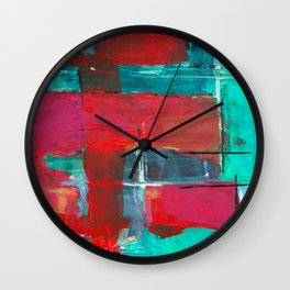 Brush Series Collors 022 Wall Clock