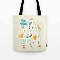 adventure Tote Bags featuring Adventure  by aWharton