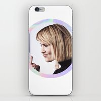 sarah paulson iPhone & iPod Skins featuring Sarah Paulson aka baddest bitch in town  by IrasHorrorStory