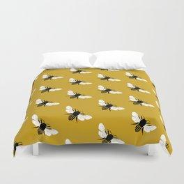 Bee world Duvet Cover