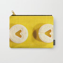 Yellow Valium Carry-All Pouch