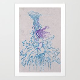 Goddess of War Art Print