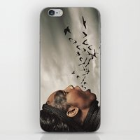 inner demons iPhone & iPod Skins featuring The Demons Within by Shaun Lowe