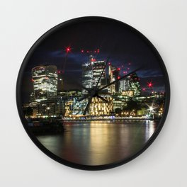 London by Night 2.0 Wall Clock