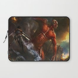 colossal titan appears Laptop Sleeve