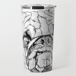 Pugs Not Drugs Travel Mug