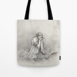 The Grey Wolf Tote Bag
