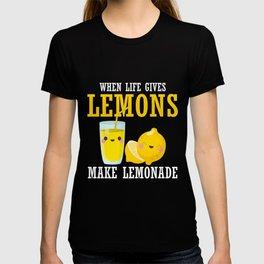 Lemonade Stand Children Fruit Sour Lemon Lover T-shirt