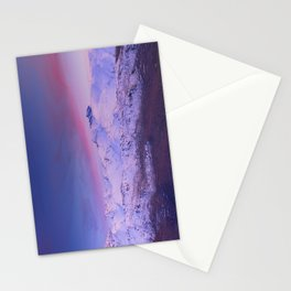 Sierra Nevada mountains. More than 3000 meters hight Stationery Cards