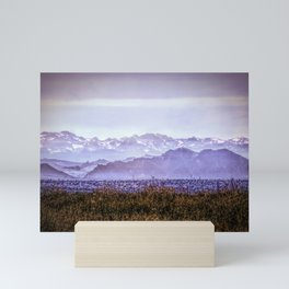 Mountains with Snow from Colorado Mini Art Print