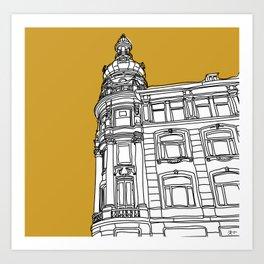 Mustard Cph Art Print