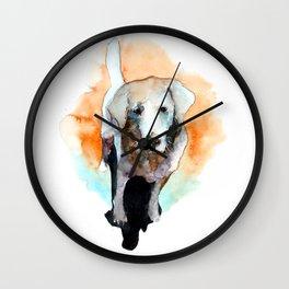 dog#20 Wall Clock