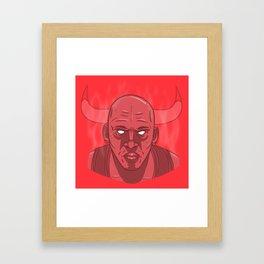 Jumpman 23 Framed Art Print