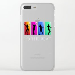To The Beat Clear iPhone Case