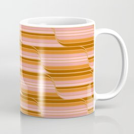 Geo Stripes - Butterscotch Coffee Mug
